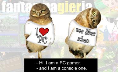PC versus Konsole